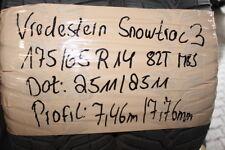 2 x Vredestein Snowtrac 3 155/65 R14 75T WINTERREIFEN 7,46mm DOT 2511
