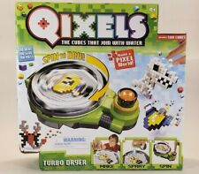 Qixels Turbo Dryer Play Set w/ 500 Cubes- Spin Dry