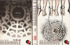 MANHOLE tomes 1 à 3 Tetsuya Tsutsui MANGA seinen en français SERIE COMPLETE