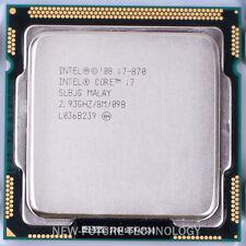 Intel Core i7-870 2.93 GHz Quad-Core LGA 1156 CPU SLBJG 100% OK