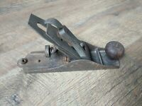 Antique Stanley Bed Rock Wood Plane No. Corrugated Bottom Woodworking Damaged