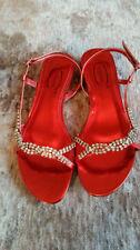 Scarpe da sposa rosso