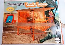 Genuine Mego Dinah-Mite Beach House w/Box Near Complete Planet of the Apes Tree