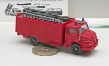 Wiking 623/8 Fire brigade Rescue vehicle with Boot MB 1413, red