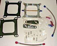 Nitrous Plate Kit 50 75 100 125 150 175 200 225 Edelbrock NOS NX ZEX Holley Carb