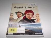 Secret Files 2 Puritas Cordis Nintendo Wii PAL *Complete* Wii U Compatible