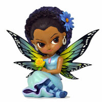 Jasmine Becket-Griffith Relaxing Rose Sugar Skull Fairy in Tea Cup Figurine