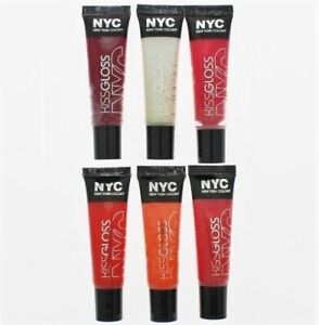 NYC Kiss Gloss 9.4ml New Multi Purchase Discounts 529 530 535 536 539 Listed