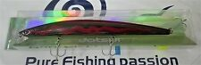 Jatsui LONG MINNOW SLIM 180mm 33g WB11AA  VMC TREBLE HOOK COL. A024 BLACK RED