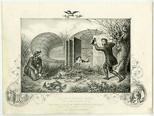 Antique Print-DECOY-DUCKHUNTING-HUNTING-COUNTRY LIFE-Miles-1860