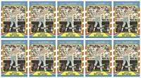 (10) 1987 Fleer Limited Edition Baseball #20 Keith Hernandez Lot New York Mets