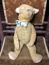 Antique Golden Bear Mohair Teddy Bear!
