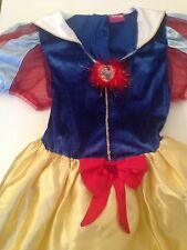 Disney Store Snow White Princess Dress Aged 7/8 Years
