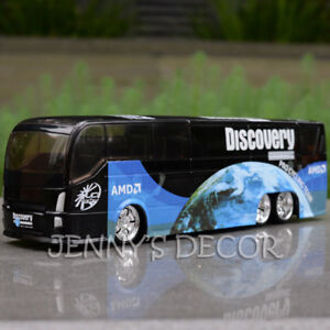 1:50 Diecast Model Toys Tour of France Bicycle Cycling Team IPCT Bus Replica