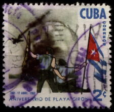 [Z5] 1Cuba 1962 Mi 760 1st anniversary of the Invasion at Bay of Pigs