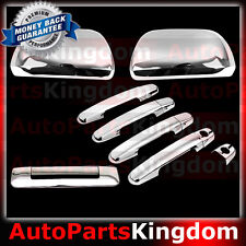 12-15 2015 TOYOTA TACOMA Chrome Full ABS Mirror+4 Door Handle+Tailgate Cover