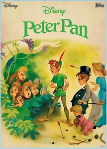 Topps Disney Collect Peter Pan Vintage Collection Peter The Darlings & Lost Boys