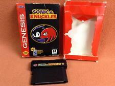 Sonic & Knuckles Sega Genesis Game FREE SHIP w/ Box!