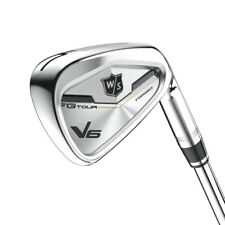 Wilson Staff FG Tour V6 Iron Set Irons 4-PW-GW RH Stiff Flex Dynamic Gold AMT