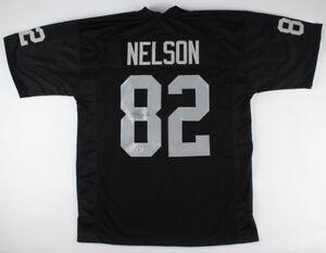 Jordy Nelson Oakland Raiders Signed Jersey (Beckett COA) Super Bowl XLV Champ WR