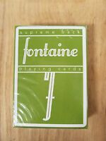 New Green Fontaine Playing Cards Limited