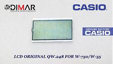 ORIGINAL LCD QW-248 NOS FOR CASIO W-750/W-35