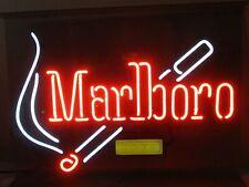 "Marlboro Cigarettes Neon Bar Light Sign New Man Cave Bar 28"" x 20"""