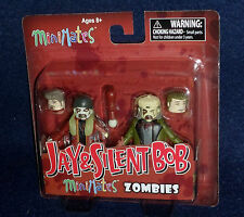 MiniMates JAY & SILENT BOB ZOMBIES Action Figure 2 PK Kevin Smith View Askew