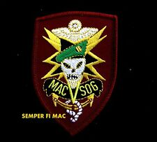 MACV SOG HAT PATCH US ARMY Military Assistance Command VIETNAM SPECIAL FORCES
