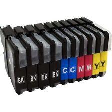 10 cartouches d'encre LC980 LC1100 Compatible pour Brother DCP MFC Imprimantes & XL
