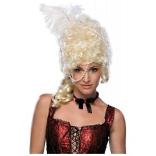 Showgirl Costume Wig Adult Women Blonde Marie Antoinette Cancan Saloon Girl