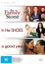 Family Stone + In Her Shoes + A Good Year - New/Sealed DVD Region 4
