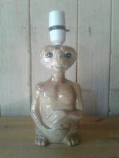 Vintage Ceramic ET Extra Terrestrial Side Table Lamp