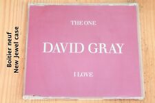 David Gray – The One I Love - Boitier neuf - CD single promo