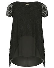 New Simply Be Emily Layered Lace Evening Plus Size Top
