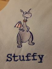 "Personalized Embroidery Handmade"", 30x30 Inches, Baby Fleece Stuffy Blanket"