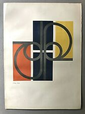 Original ALFREDO HLITO  Limited Edition Lithograph Mid-Century Modern Argentine