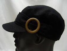 D&y - Noir - Laine Mélangée - Taille Unique Réglable Cadet Style Chapeau