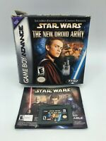 Star Wars The New Droid Army Nintendo Game Boy Advance, 2002 Used Read Descrip..