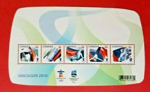 """Canada Stamp 2299 """"Olympic Sporting Events"""" S/S MNH 2009"""