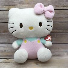 2011 Ty Beanie Buddy Hello Kitty Ultra Soft Pastel Pink Plush 12""