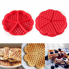 Silicone Waffles Muffins Mold Cake Chocolate Bakeware Kitchen Baking Mould Tool