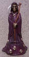 Candle Tealight Votive Holder Halloween Grim Reaper and Scythe NEW