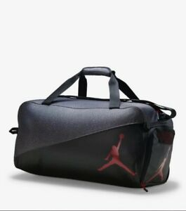 Nike Air Jordan Elemental Jumpman Duffel Bag (Black/Red) NEW With Tags