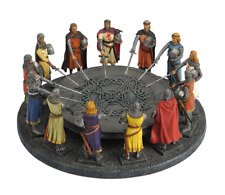 King Arthur And The Knights Of The Round Table Figurine Statue FATHERS DAY GIFT