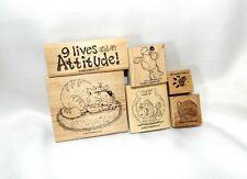 Stampin Up, Cattitude stamp set, kitties kittens cats cute!