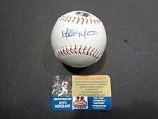 Mitch Moreland Wolrd Series Boston Red Sox Autographed Rawlings Baseball coa;FTA
