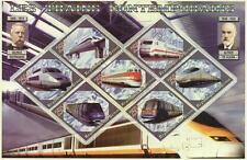 CONTEMPORARY TRAINS REPUBLIQUE DU BENIN 2006 MNH STAMP SHEETLET