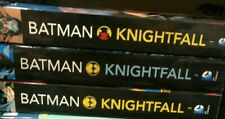 BATMAN KNIGHTFALL BANE 3 BOOK TRADE OAPERBACK LOT