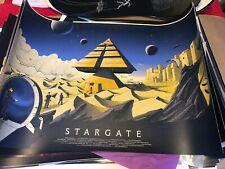 Stargate Screen print by Cristian Eres 5 of 50 Rare Mondo Bottleneck Gallery
